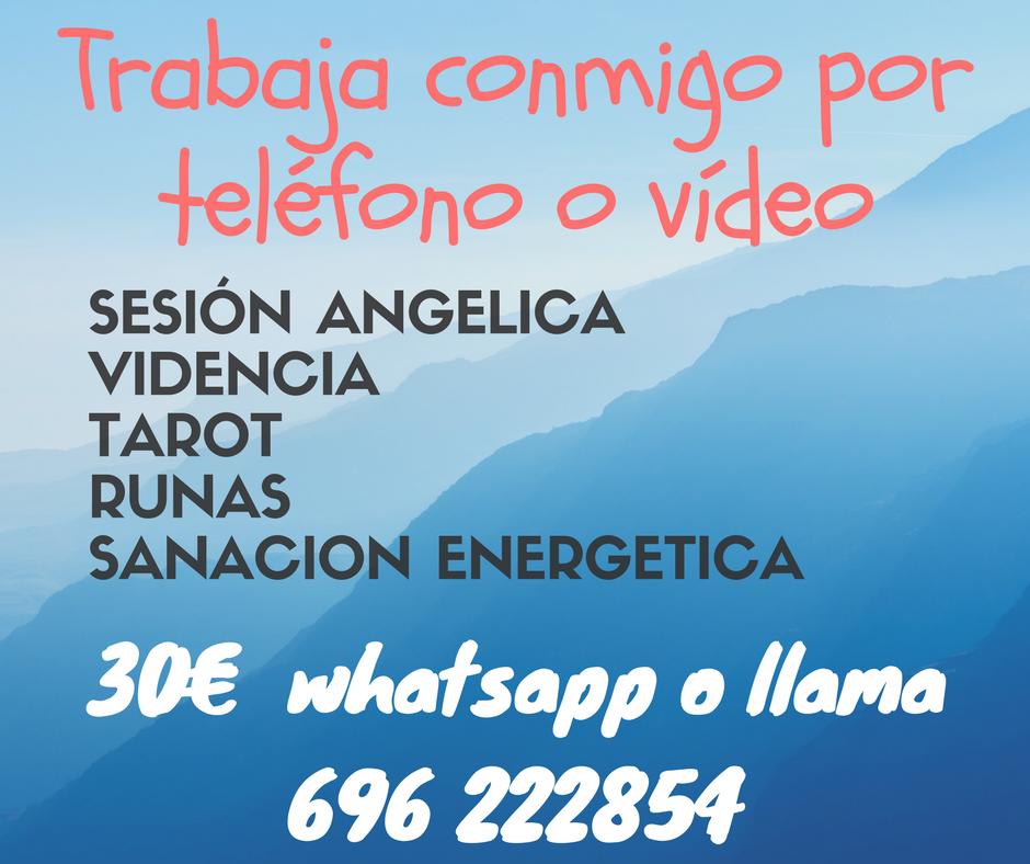 Sesiones por teléfono o video