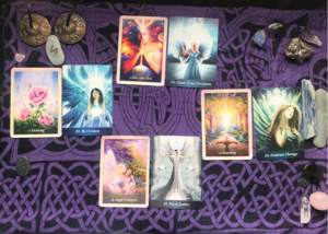 Angel cards spread